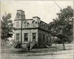 Teaneck's first Town Hall